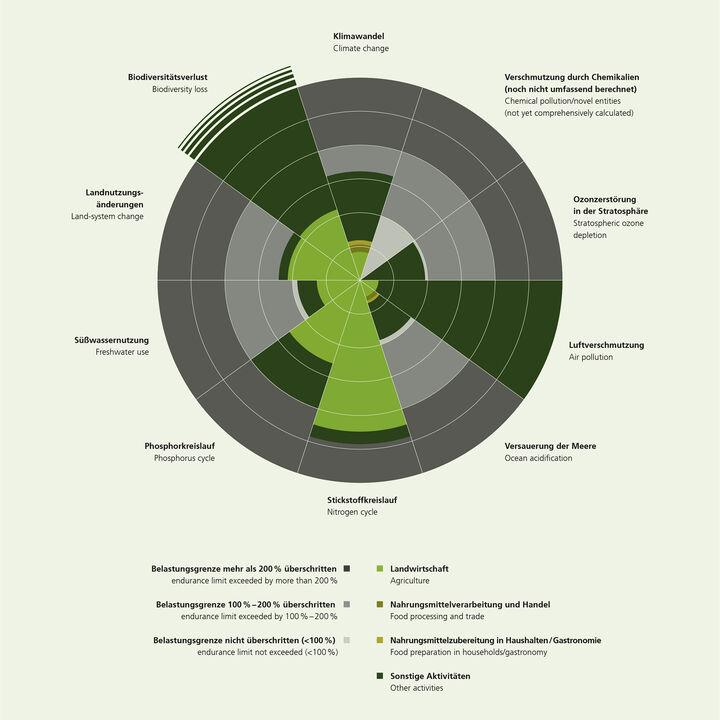 Globale Umweltlasten Grafik