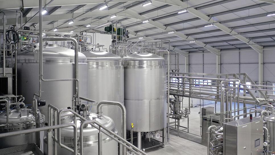 Biocatalyst Ltd.,Feed Tanks