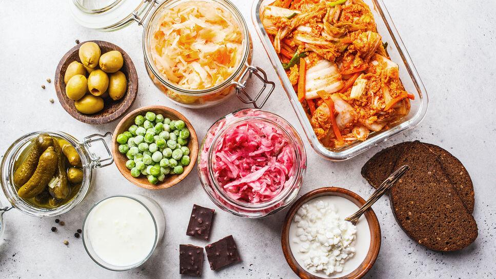 Fermentation von Lebensmitteln
