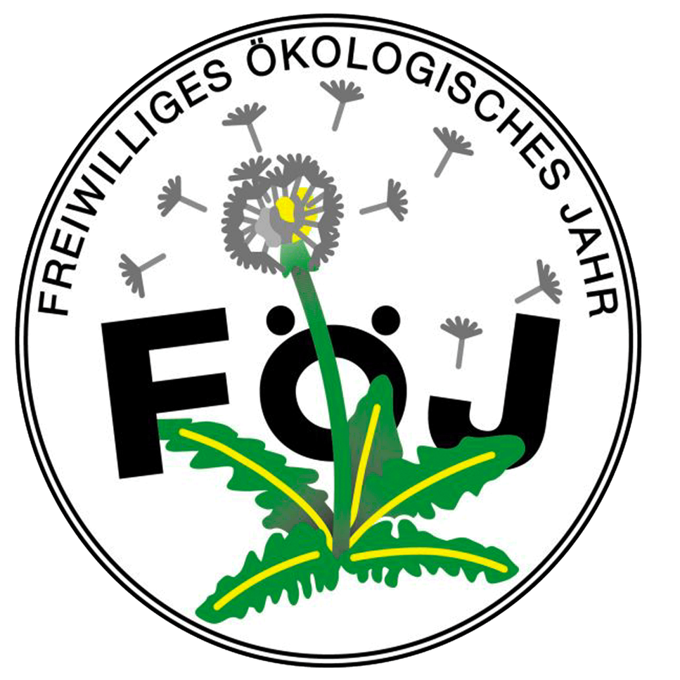 Logo of the FÖJ