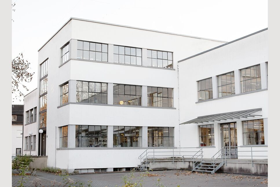 BRAIN Building 34, a revitalised Bauhaus-style building
