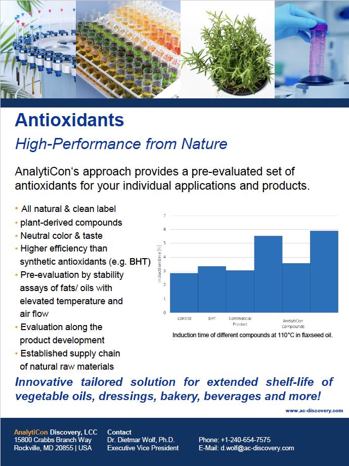 AnalytiCon Flyer antioxidants