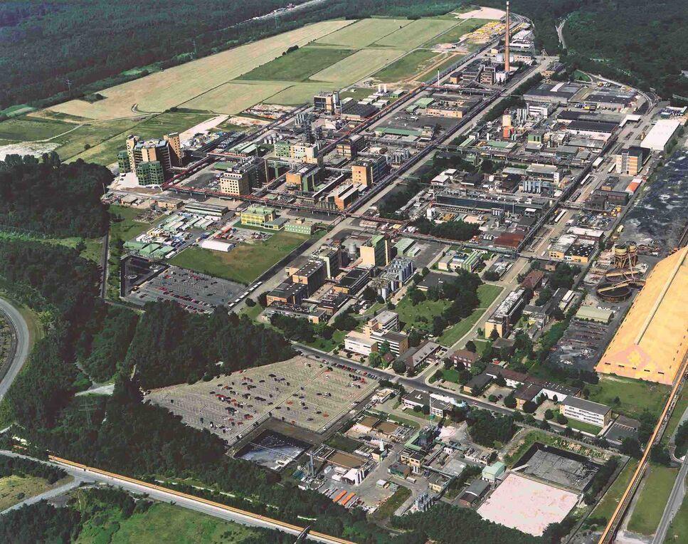 Schering AG: Produktionswerk für chemische Arzneimittel in Bergkamen