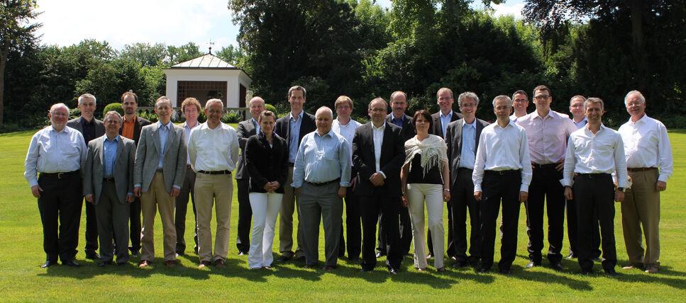 Teilnehmer des 5. Workshops des Industrieverbundes im Mai 2011 in Ermatingen