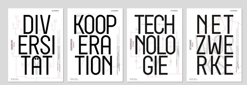 Cover Übersicht der Blickwinkel Ausgaben Diversität, Kooperation, Technologie, Netzwerke