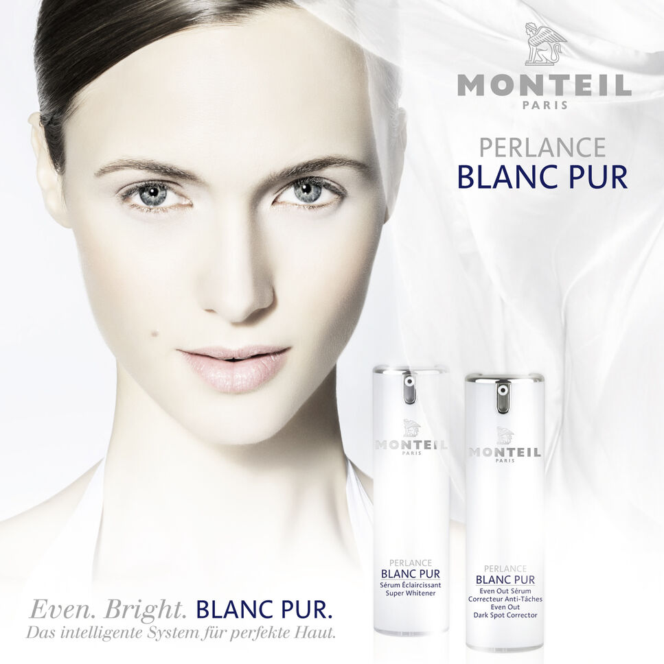 """Die MONTEIL PERLANCE BLANC PUR Kosmetik Pflegeserie wurde in Paris mit dem Innovationspreis """"Prix H. Pierantoni de I'Innovation 2013"""" ausgez"""