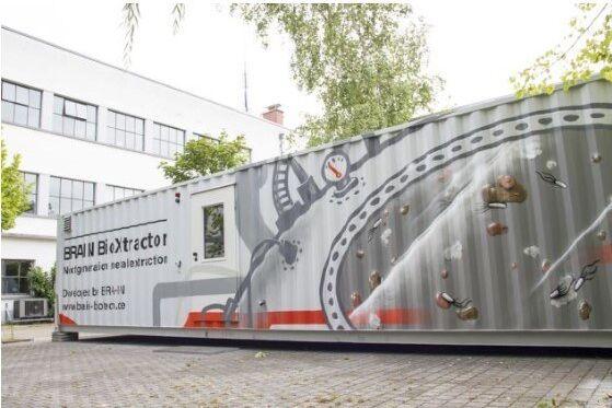 Die erste mobile BRAIN BioXtractor Anlage im Technikumsmaßstab befindet sich am deutschen Hauptsitz der BRAIN AG in Zwingenberg.