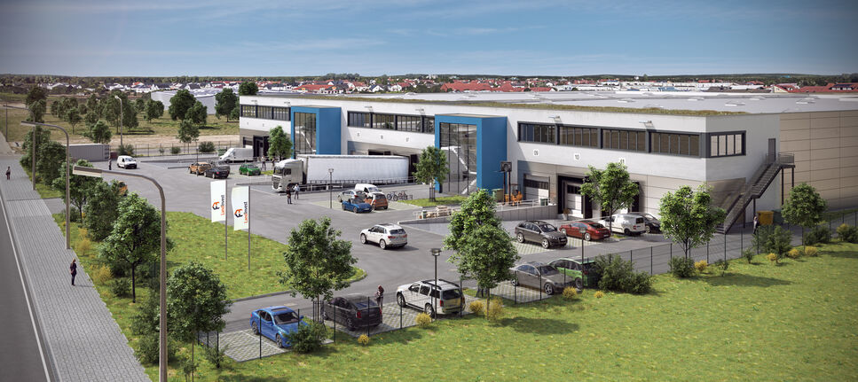 The building in Büttelborn, Germany where the new WeissBioTech production plant will be installed.