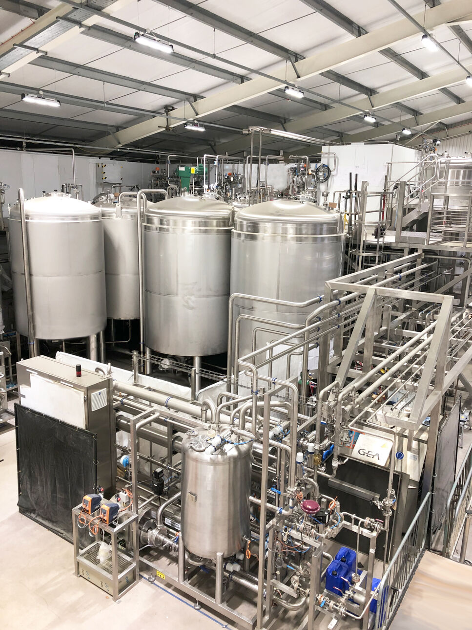 The new Biocatalysts production facility in Cardiff