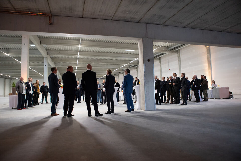 Inauguration of the building in Büttelborn, Germany.