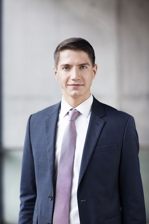 Portrait of Lukas Linnig, BRAIN AG