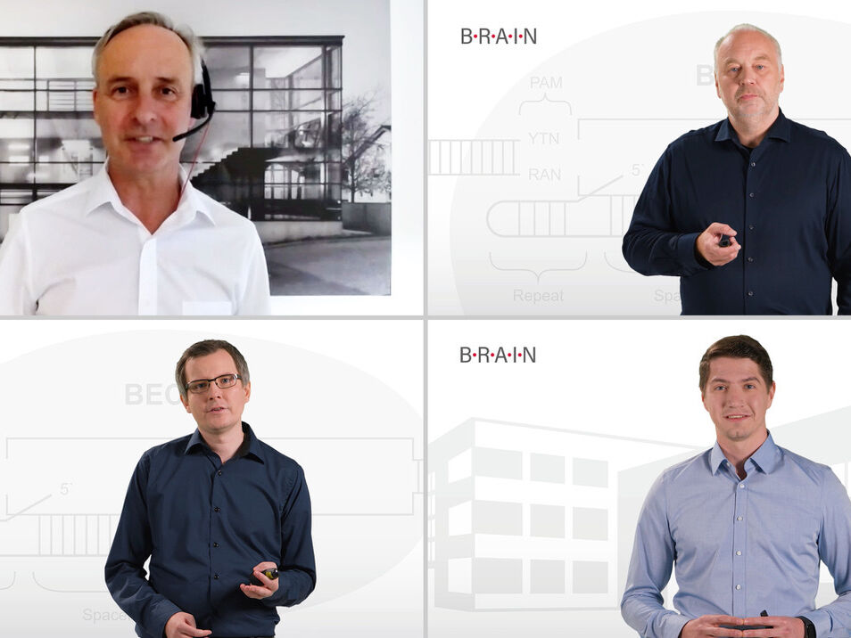 Screenshots from BRAIN Biotech´s CMD presentations